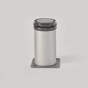 Picior mobilier reglabil D50 aluminiu